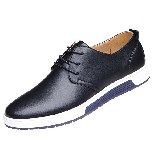 QCO Men's Classic Casual Oxford Flats Sneakers Shoes...