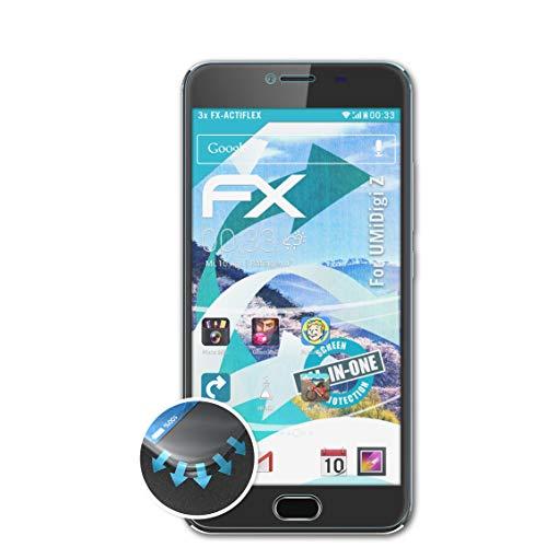 atFoliX Pellicola Protettiva Compatibile con UMiDigi Z Pellicola Proteggi, Ultra Chiaro e Flessibile FX Protezione Pellicola dello Schermo (3X)