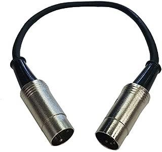 Cable Up CU/MD201 1' MIDI Male to MIDI Male Premium MIDI Cable