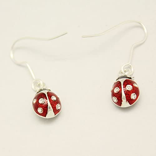 FINAL MARKDOWN  Easter Egg Earrings 2 pairs Enameled egg charms with crackled glass beads  Surgical steel wires Easter Earrings Clearance