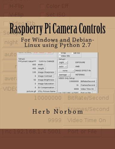 Raspberry Pi Camera Controls: For Windows and Debian-Linux using Python 2.7