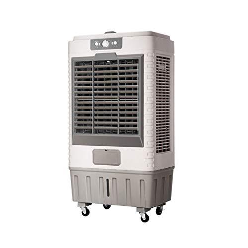 LZCYN – Aire acondicionado industrial, portátil, 45 l, depósito de agua, tercer ajuste de engranaje, enfriador de aire (color: gris)