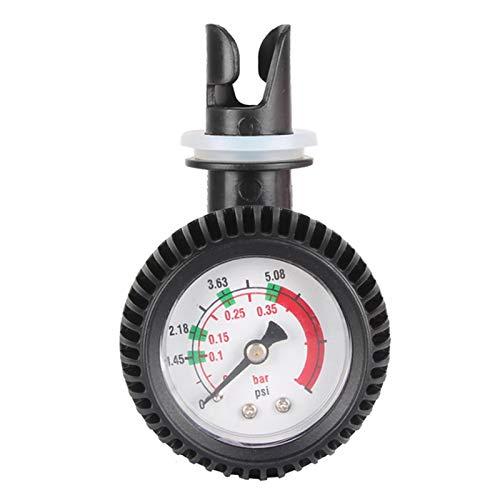 Woyada Probador de presión de gas, medidor duradero y preciso barómetro para kayak inflable