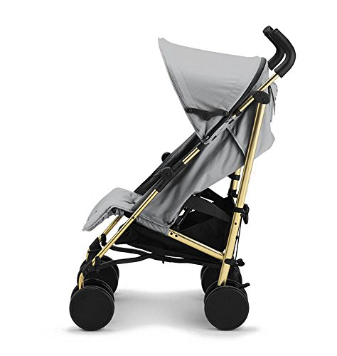 Elodie Details 7350041678175 Kinderwagen Stockholm Stroller, grau/gold