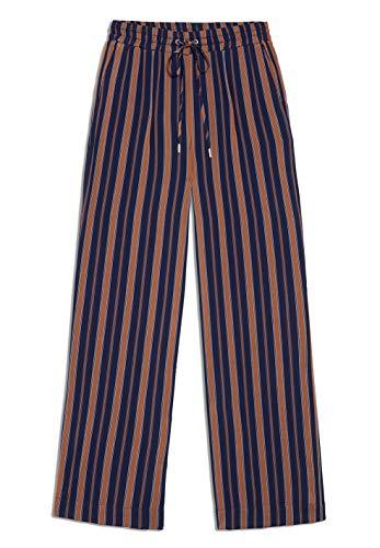 ARMEDANGELS damesbroek van LenzinGTM ECoverOTM - VIVIAN multicolor strepen - 100% viscose (lenzingTM EcoveroTM) broek stoffen broek