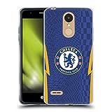 Head Case Designs Licenciado Oficialmente Chelsea Football Club Casa Kit 2021/22 Carcasa de Gel de Silicona Compatible con LG K8 / K9 (2018)