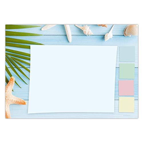 Schreibtischunterlage aus Papier für Kinder & Erwachsene | Ideal als Notizblock, Organizer, Wochenplaner & Tagesplaner | Perfekt für Deine tägliche To Do Liste | DIN A3 Schreibunterlage