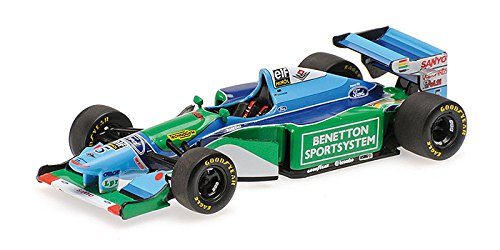 Minichamps 400940005 1:43 Scale 1994 Benetton Ford Michael Schumacher Without Driver Figure Die Cast Model