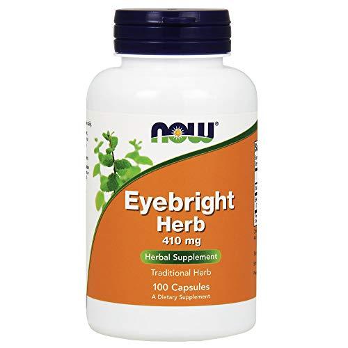 Eyebright Herb, 410 mg, 100 Kapseln - Now Foods