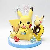 XUEKUN Digimon Adventure Pokémon Pikachu Elf d'action Figure Sculpture Animée Characters Statue Modèle Enfants Jouets Décorations Cadeau Pikachu B 13cm