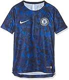 NIKE CFC Y NK Dry SQD Top SS GX 2 Camiseta de Manga Corta, Unisex niños, Hyper Cobalt/Rush Blue/White, M