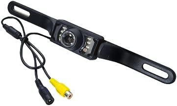 Pyle - plcm10 - pyle plcm10 license plate mount rear view camera wide angle color camera