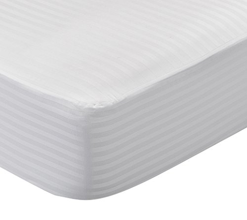 Pikolin Home - Protector de colchón cutí 100% algodón sanforizado, completamente transpirable y absorbente