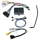CRUX SWRGM-49 radio replacement interface retains Steering Wheel Control functionality and factory Chime feature on select GM LAN 29Bit vehicles with Bose Amplified & Non-Amplified Systems (2006-2015)
