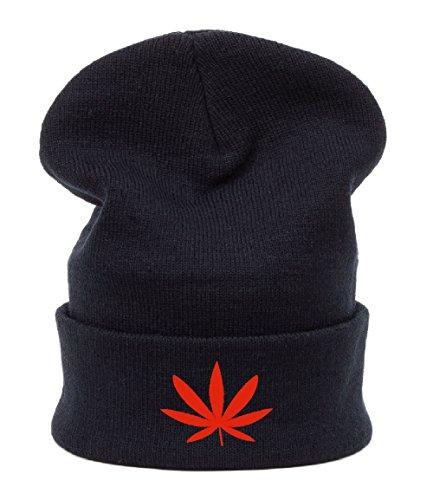 Beanie hat Bonnet Fashion Jersay Oversize Bad Hair Day Fresh Gunja Weed Leaf