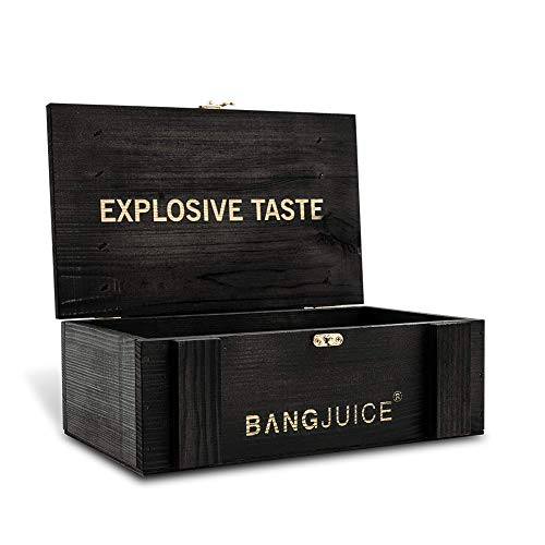 Bang Juice Holzkiste, kleine leere Box...