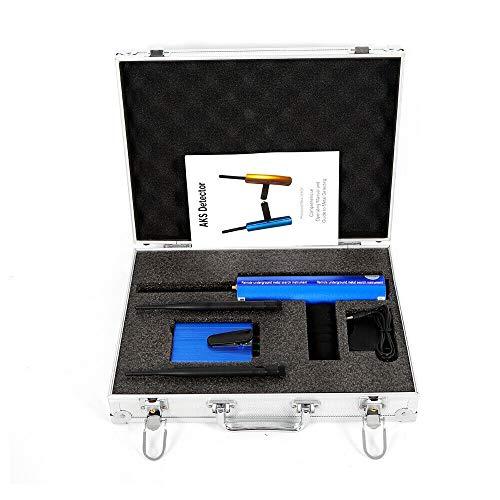 3D Metal Gold Detector Kit, 1200m Long Search Range, Copper Finder Searcher, AKS Handhold Pro Diamond Hunter Multifunctional Underground Gold Silver Copper Finder Detecting Machine Detecting Depth 25M