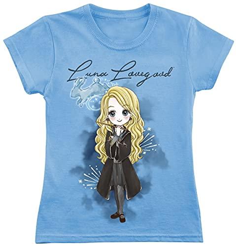 Harry Potter Luna Lovegood Frauen T-Shirt hellblau 116 100{c846e2676298d3663b554018df9fa26a13a021937c43dbd13a14f5a2e1b63e8d} Baumwolle Fan-Merch, Filme, Luna Lovegood