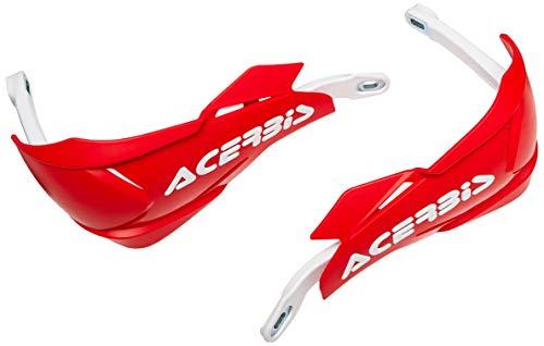 Acerbis 0022397.343 X-Factory Protège-mains Rouge/Blanc Taille Unique