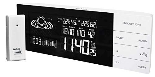 Wetterstation WS 6870 inkl. mit Außensender TX 960 TH mit Vorhersage von Wettersituation, Anzeige von Wettertendenz und Luftdruck