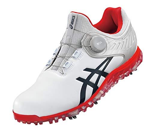 アシックス ゴルフシューズ ゲルエースプロ5 ボア ホワイト/ピーコート28.5cm