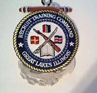 Recruit Training Command Great Lakes Illinois Patch Sew on or Iron on 4 1/2