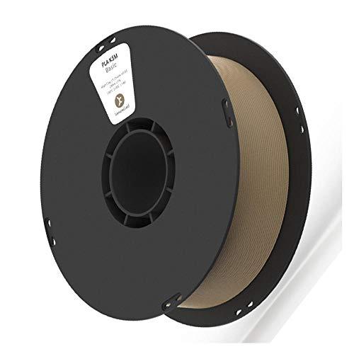 3D-Druckfilament 1 kg, PLA K5M Matte Texture Filament 1,75 mm, wird für 3D-Drucker und 3D-Stift verwendet-Braun