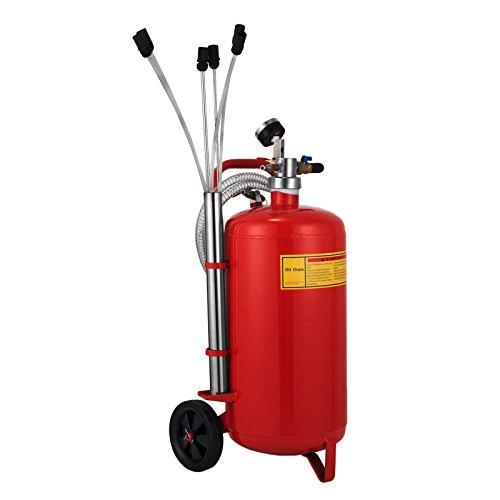 Mophorn 5 Galones / 22.7 L Extractor de Aceite Extractor de Garaje de Aceite Extractor de Fluido de Vacío Extractor de Tanque de Bomba