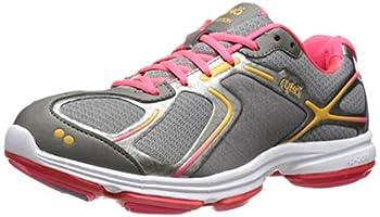 RYKA Women s Devotion Walking Shoe,Grey/Pink,8.5 M US