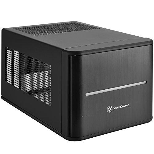 SilverStone SST-CS280 - Case Storage Mini-ITX con finestra, nero