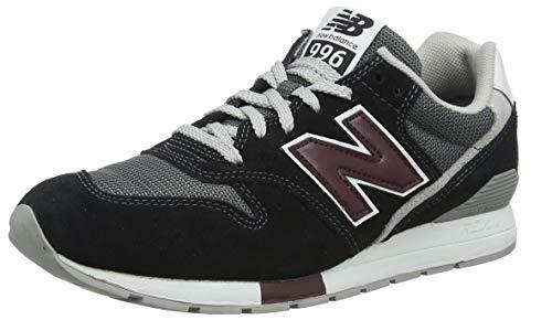 New Balance Herren 996 Sneaker, Grau (Castlerock/Nb Burgundy Wk), 43 EU