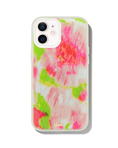 Sonix Watermelon Glow in The Dark Case for iPhone 12mini [10ft Drop Tested] Protective Tie Dye Clear Cover for Apple iPhone 12 Mini