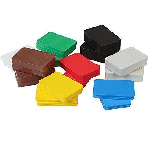 160 x Inovatec Kunststoff Unterlegplatten 60 x 40 x 1-20 mm Ausgleichsplatten Abstandshalter Niveauausgleich