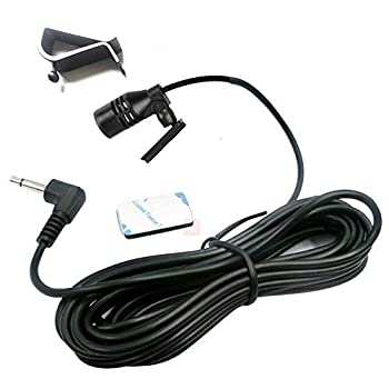 Car Microphone Bluetooth Stereo 3.5mm Jack Assembly Mic for Kenwood Boss Corehan Power Acoustik JVC Sony Jensen Alpine Car Vehicle Head Unit Enabled Audio Radio GPS DVD