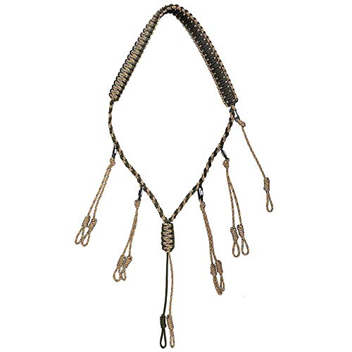 GLORYFIRE Duck Call Lanyard with Removable Drops Secures 5 Call Premium Military...