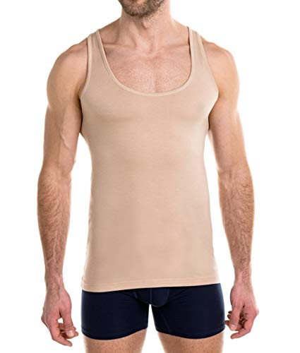 FINN Business - Camiseta interior para hombre (microfibra)