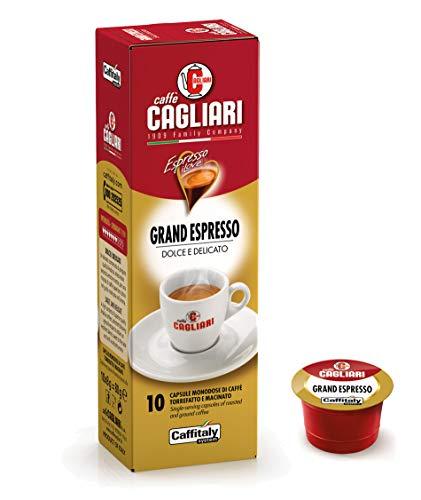 50 Capsule Grand Espresso Caffè Cagliari - Caffitaly System