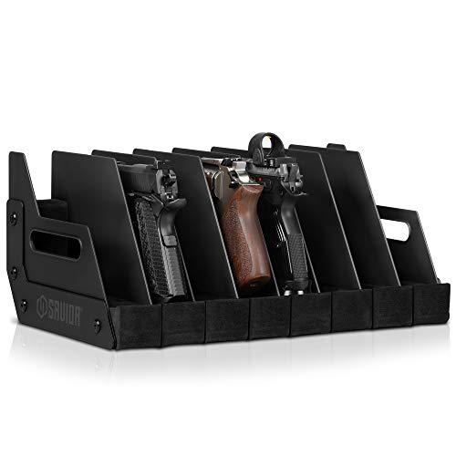 Savior Equipment Gun Pistol Revolver Firearm Handgun Rack...