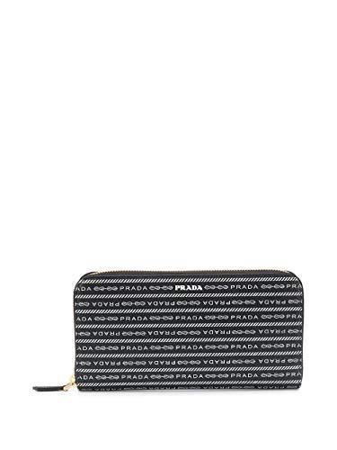 Luxury Fashion | Prada Woman 1ML5062DF8F0002 Black Leather Wallet | Spring Summer 20