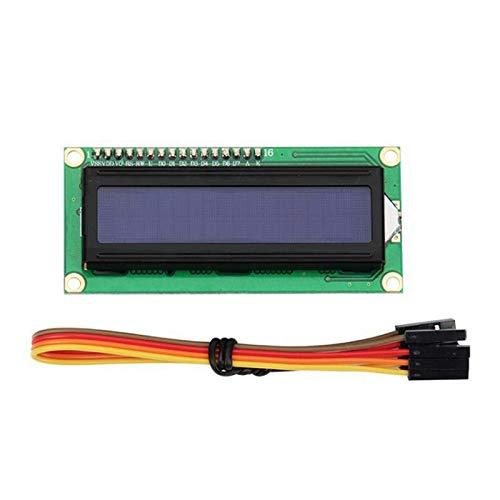 MURUI Qax1 Impresora 3D Nano DLP Shield V1.1 Tablero de expansión con Pin DE Soldadura DE Pantalla DE 1602 Pin IIC IIC I2C & 4PIN CONVERTING Cable Z YC0304
