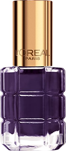 L'Oréal Paris Color Riche Le Vernis Nagellack mit Öl in Lila / Pflegender Farblack in Dunkellila mit Glanz-Effekt /# 334 Violet de Nuit / 1 x 14ml