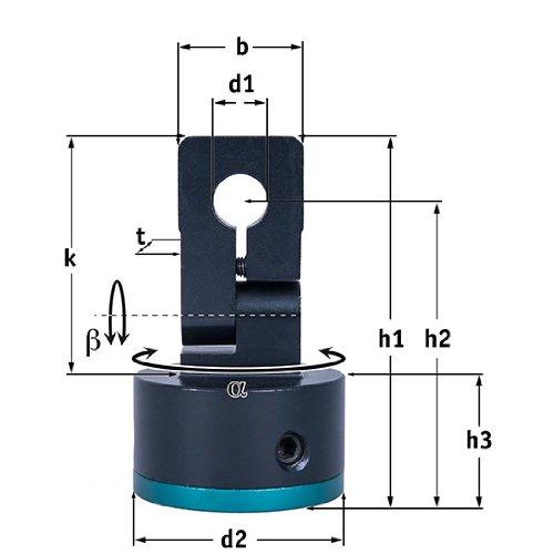 Picotronic Halterung für Lasermodul 12mm - 70112498