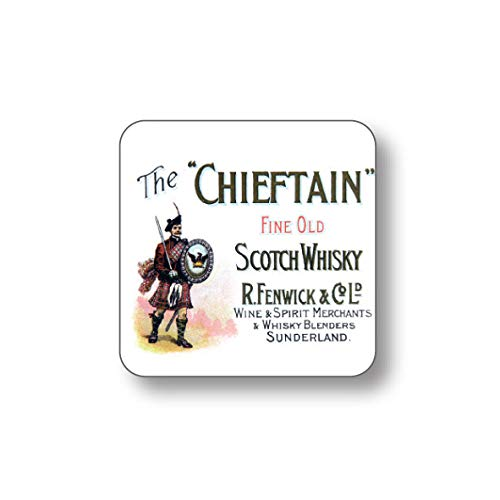 Whisky Label The Chieftain – Loser Untersetzer