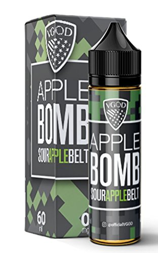 VGOD e-Liquid Premium APPLE BOMB,Short Files, Shake-and-Vape für Ihre e-Zigarette, 0.0 mg Nikotin, Liquid 50 ml