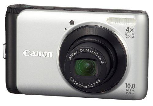 Canon Powershot A3000 IS 10MP 4X Digital Camera Silver - 4254B001