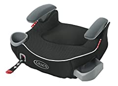 Helps safely transport your big kid from 40-100 lbs. and up to 57 inches tall One-hand front-adjust Latch system secures booster to vehicle seat Secure connection keeps booster seat properly in place while seat is unoccupied Be sure to check your loc...