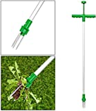 PLMNKO Cortatubos para Tubos de Aluminio, desbrozadora Manual para jardín, desmalezadora con Garra de Acero