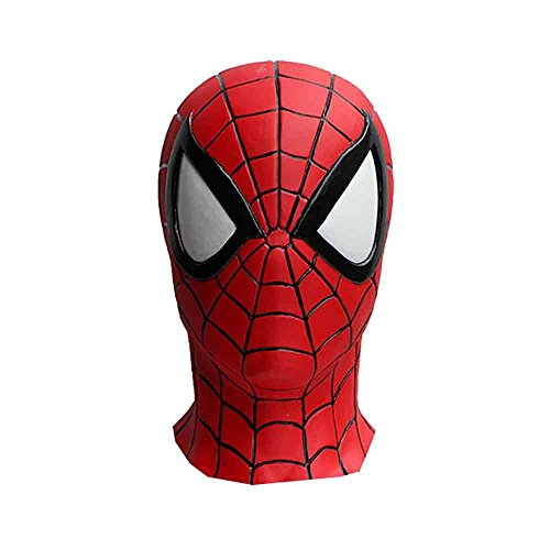 Masque intégral Spider-Man en caoutchouc fabriqué au Japon