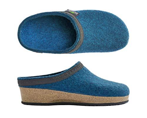 Stegmann 109, Damen Pantoffeln,Türkis (Turquoise 8821), 40 EU