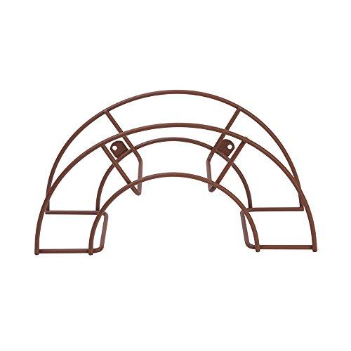 Sauvic 03320 – Support Tuyau Petit, 36,5 x 12,5 x 18,5 cm, Couleur Rouille